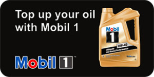 TopUp your oil with Mobil 1